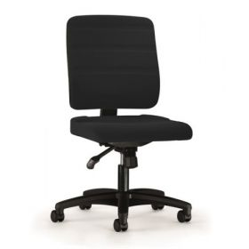 Prosedia bureaustoel Yourope 3 met lage rug - Zwart