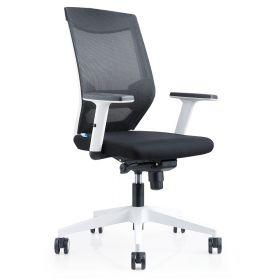 Bürostuhl Brescia Schwarz - Rocada Ergoline - rückenfreundlich und günstig