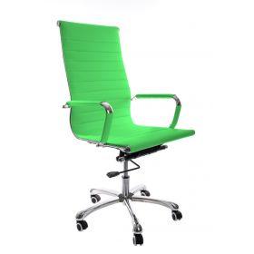 """Design-Chefsessel """"Madrid"""" – höhenverstellbare Wippmechanik – Grün"""