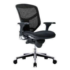 COMFORT Bürostuhl Enjoy Classic - ohne Kopfstütze - Stoffbezug - Schwarz