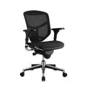 COMFORT Bürostuhl Enjoy Classic - ohne Kopfstütze - Schwarz
