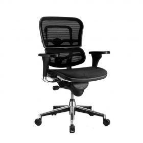 COMFORT Bürostuhl Ergohuman Classic - ohne Kopfstütze - Schwarz