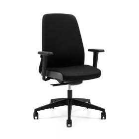 """Bürostuhl """"Every"""" von Interstuhl - ergonomisch zertifiziert - Schwarz"""