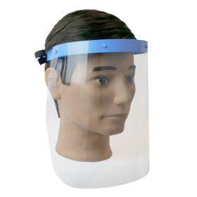 Hygiene-Gesichtsschutz - PVC-Schirm - Antiallergen aus medizinischem Kunststoff