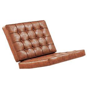 Polsterauflage - Vintage Braun - Kissenset Barcelona Chair (Replika)