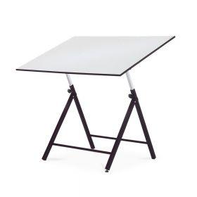 Verstellbarer Zeichentisch - 90 x 130 cm - Klappbar - Einstellbar in Höhe & Winkel - Rocada