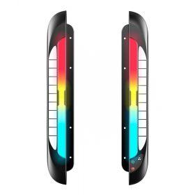 RGB-LED-Lichtleisten-Modul für Schreibtische - Viele Modi & Farben, Stifthalter & Handy-Halter