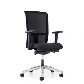 Prosedia bureaustoel Se7en Net - Zwart