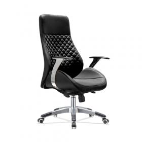 Design-Bürostuhl Bologna - Luxus fürs Office - Schwarz