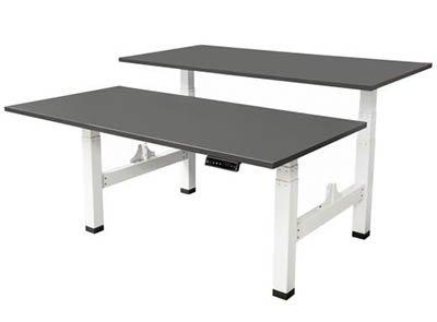 Professionelle Schreibtische mit fester Höhe oder (elektrisch) verstellbar