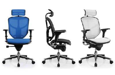 Ergonomische Schreibtischstühle für gesundes Sitzen